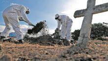 Em dois dias, MS enterra 44 mortos pela covid-19