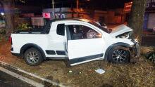 Motorista bêbado é preso após bater carro e frustrar pescaria em MS