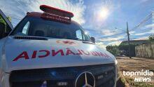 Homem bate a cabeça no meio-fio e morre no hospital em Dourados