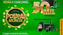 Promoção sorteia cinco poupanças de R$50 mil, prêmios mensais e instantâneos
