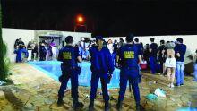 Guarda usa bomba de efeito moral para acabar com festa em Campo Grande
