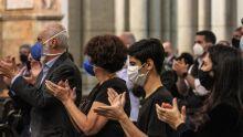 Família celebra missa de sétimo dia de Bruno Covas