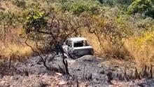 Carro encontrado incendiado pode ter sido utilizado por Lázaro, aponta polícia