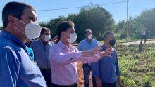 Olho no olho do povo, Riedel vê de perto necessidades e lista obras em Paranaíba