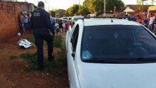 Garoto de 13 anos morre atropelado por picape e suspeito foge em Dourados