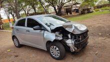 Casal monta rifa para consertar carro após acidente em Campo Grande