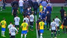 Jogo do Brasil e Argentina é paralisado pela Anvisa