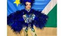 Mini Miss Universo tem participante de MS que se vestiu de arara-azul durante apresentação
