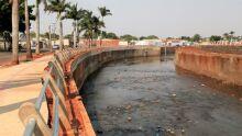 Prefeitura intensifica trabalho para liberar pista da Norte-sul na revitalização do Anhandui