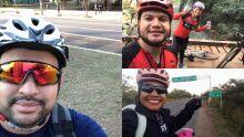 Paixão pelo esporte e desafios do trânsito unem ciclistas em Campo Grande