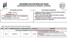 Motorista de carro é multado por dirigir sem usar capacete no Maranhão
