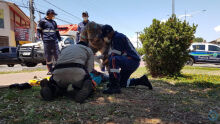 Ciclista é atropelado por motorista de Focus em Coxim