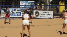 Jogos do circuito sul-mato-grossense de beach tennis acontecem no feriado e final de semana