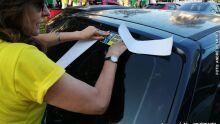 Manifesto contra decisão do STF reúne cerca de 100 pessoas na Afonso Pena