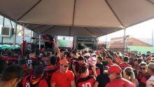 Torcedores do Flamengo esperam repetir 3x0 contra Liverpool e festa vem na vitória ou derrota