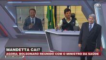 Datena dispara: 'se fosse Bolsonaro daria uma bica no Mandetta'