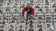 Padre Marcelo Rossi transmite missa com foto de profissionais da saúde