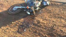 Motociclista de 50 anos morre em batida de frente com Uno