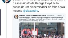 NO FLAGRA: blogueiro bolsonarista alvo do STF é pego em fake news