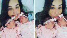 """""""Engravidei estando grávida"""", revela mãe de gêmeas"""