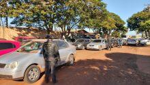 Comboio com 20 carros é flagrado com contrabando de R$ 3 milhões
