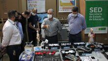 SED compra 31 laboratórios móveis para escolas estaduais em MS