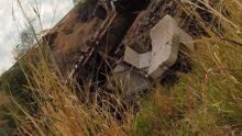 Caminhão cai na Serra de Maracaju; local é perigoso