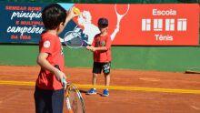 Campo Grande dá show e tem melhor escola Guga Tênis do Brasil
