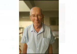 Vôzinho de 83 anos desaparece no Portal Panamá e família pede ajuda para encontrá-lo