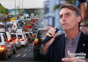 Grupo organiza carreata 'Fora Bolsonaro' em Campo Grande
