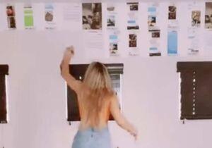 Influenciadora expõe provas de traições em paredes do quarto do namorado