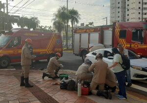 Vídeo mostra momento que carro acerta Jackeline, que morreu em Campo Grande