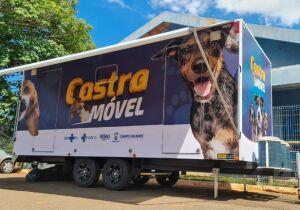 Castramóvel entra em ação no próximo fim de semana