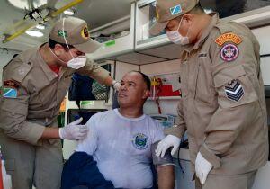 Sargento da PM evita tragédia ao salvar crianças de incêndio no Pioneiros