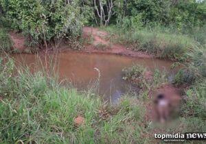 Corpo em estado de decomposição é encontrado próximo das Moreninhas