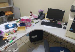Criminosos furtam equipamentos e vandalizam posto de saúde no Itamaracá