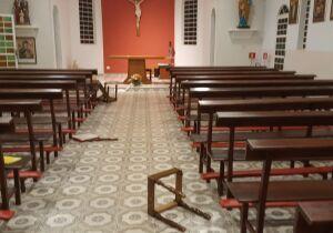 Pecado: estrangeiros residentes em Bonito provocaram arruaça em igreja