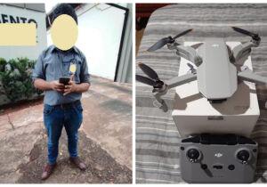 Empresário deve 'fortuna' em drones e é chamado de golpista em Campo Grande