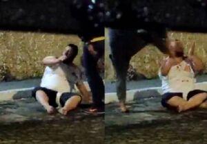 Vídeo: homem marca encontro com menina de 12 anos e é linchado por parentes dela