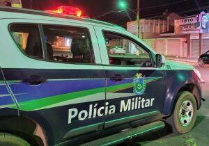 Motorista bêbado acerta em cheio viatura da polícia no Campo Nobre