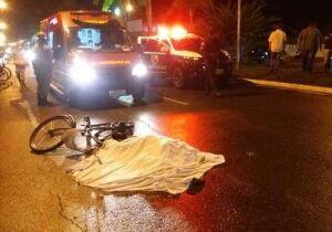 Ciclista morre atropelado em Corumbá