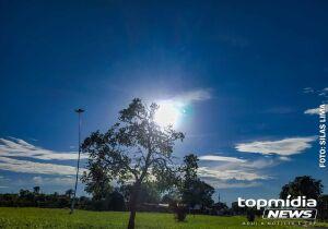 Chuva vai embora e segunda-feira será de sol em Mato Grosso do Sul