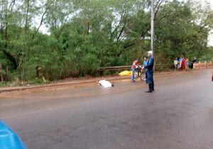 Ciclista desvia de enxurrada, é atropelado e morre em Campo Grande