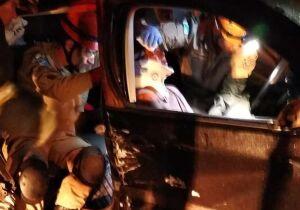 Bebê de um ano vítima de acidente de carros morre na Santa Casa