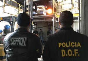 Delegacia de fronteira destrói 9,6 toneladas de drogas em Dourados