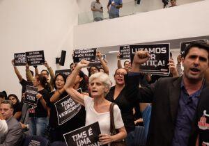 VÍDEO: aumento de salário de juízes de MS é aprovado sob protestos na Assembleia