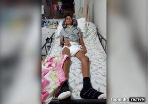 Família de menino eletrocutado ao pegar pipa em poste realiza pastelada para tratamento