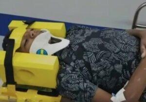 Após desafio da rasteira, menino de 11 anos vai parar no hospital