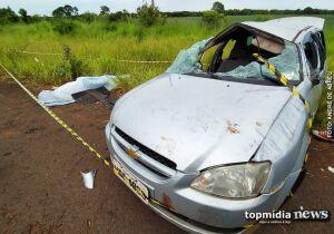Saindo de festa, jovem de 25 anos morre em acidente de carro