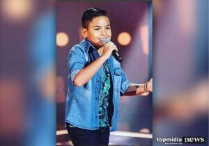 Campo-grandense Matheus Martins passa para próxima etapa do The Voice Kids